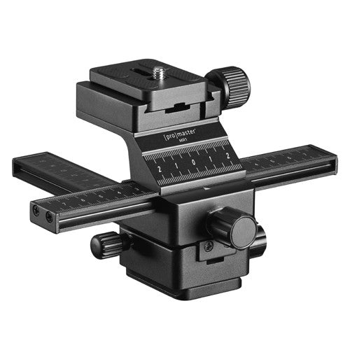 ProMaster MR1 Macro Focusing Rail w/Quick Release - Photo-Video - ProMaster - Helix Camera