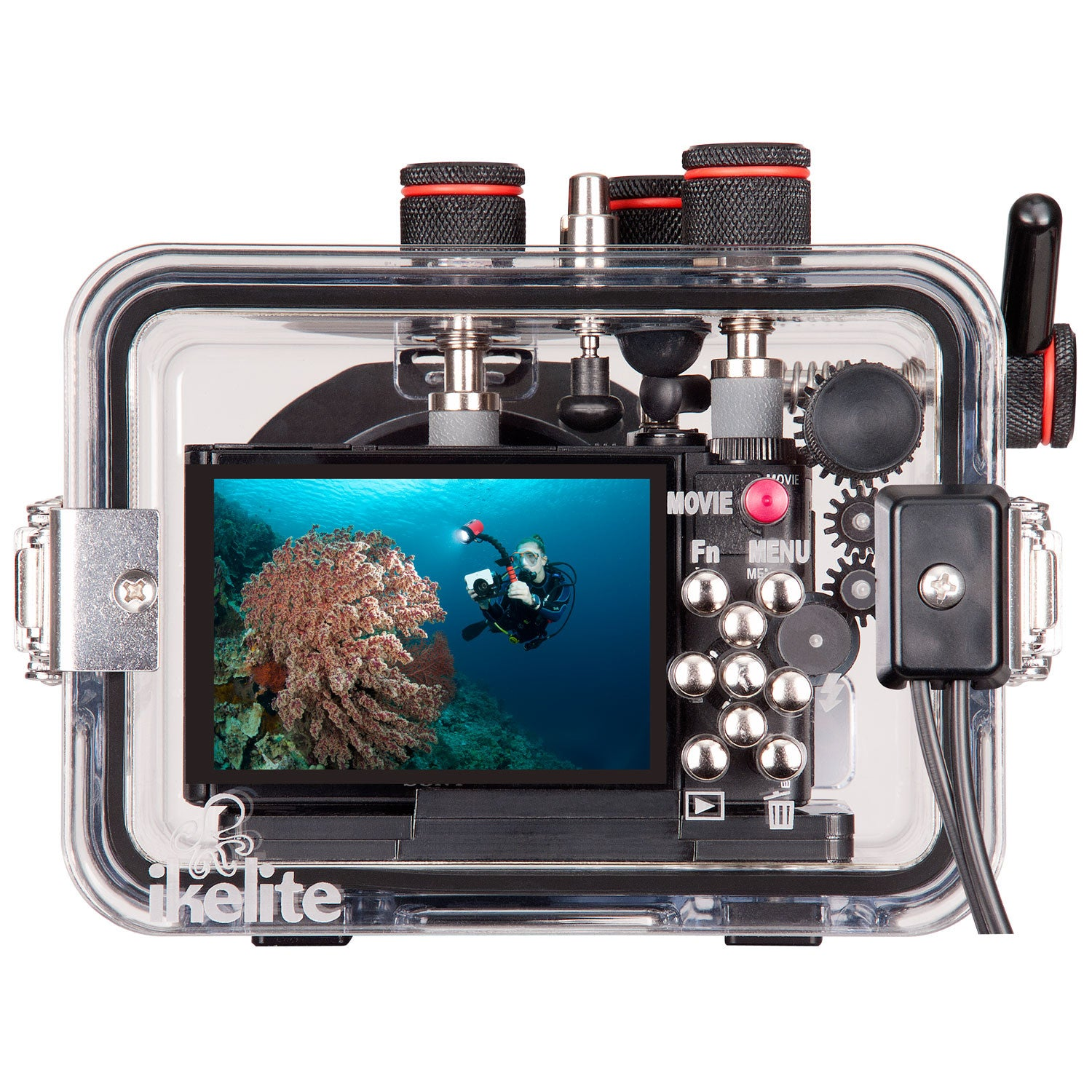 Ikelite Underwater Housing for Sony Cybershot HX90 & WX500 - Underwater - Ikelite - Helix Camera