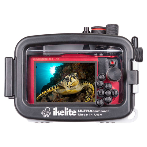 Ikelite Underwater Housing and Olympus Tough TG-5 Camera Kit - Underwater - Ikelite - Helix Camera