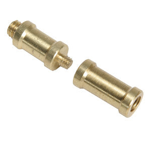 "Smith Victor 580 Brass adapter w/ 1/4"" & 3/8"" male and female ends (661205) - Lighting-Studio - Smith-Victor - Helix Camera"