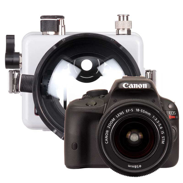 Ikelite Underwater Housing with Canon Rebel SL1 Kit - Underwater - Ikelite - Helix Camera
