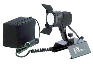 Smith Victor Model 280BK 100-watt quartz DC video light kit w/ battery & XLR charger (701621) - Lighting-Studio - Smith-Victor - Helix Camera