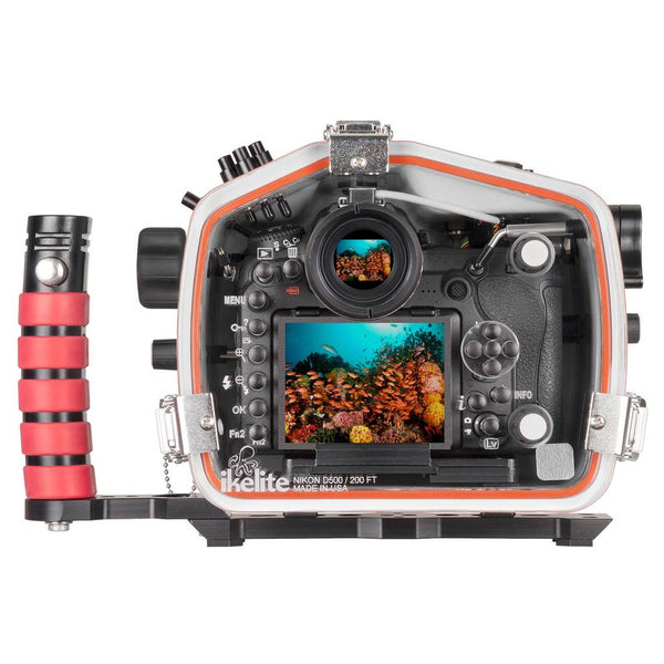 Ikelite Underwater Housing Back for Nikon D500 Back 200FT