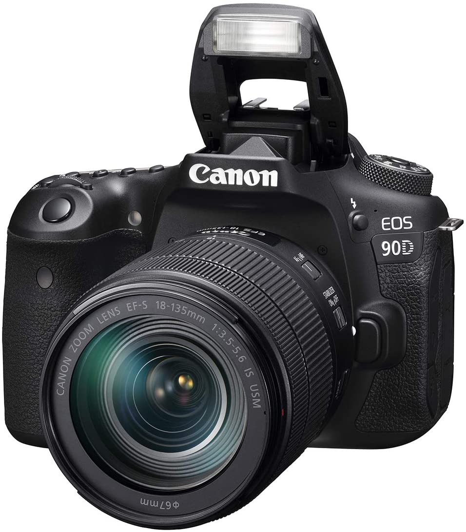Canon EOS 90D DSLR with 18-135mm IS USM Kit