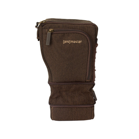 ProMaster Cityscape 15 Holster Sling Bag - Hazelnut Brown