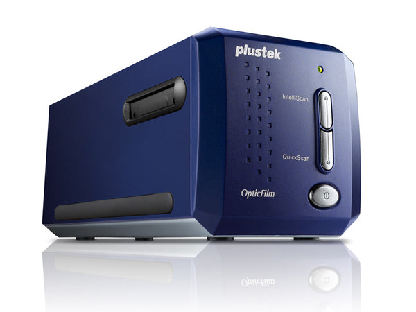 Plustek OpticFilm 8100 7200DPI Film and Slide scanner (PLS-783064365321) - Print-Scan-Present - Plustek - Helix Camera