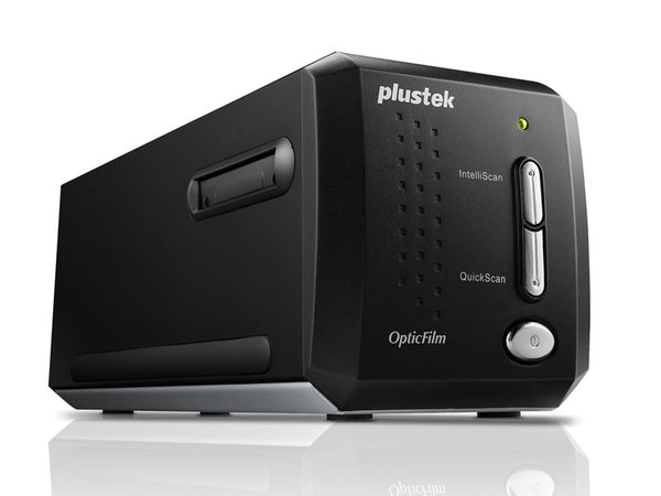 Plustek OpticFilm 8200iAI 7200DPI film and slide scanner (PLS-783064365338) - Print-Scan-Present - Plustek - Helix Camera