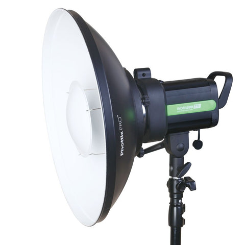 Phottix Pro Beauty Dish MK II with Bowens Speed Ring, White - 16in/ 42cm