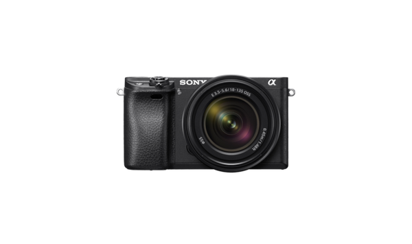 Sony a6300 Mirrorless Camera with 18-135mm OSS