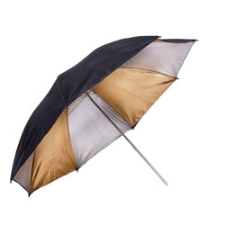 ProMaster Professional Umbrella - Black/Silver/Gold - 45""