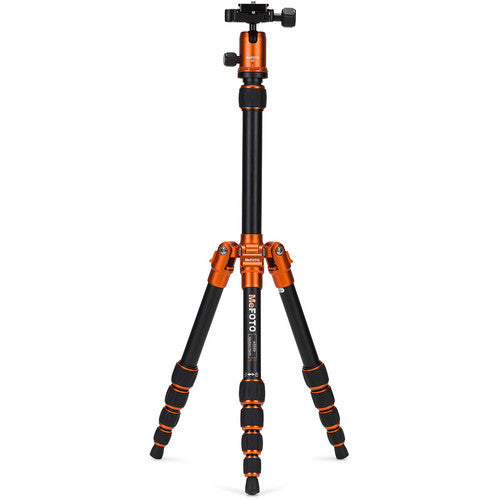 MeFoto Backpacker Travel Tripod Kit - Orange