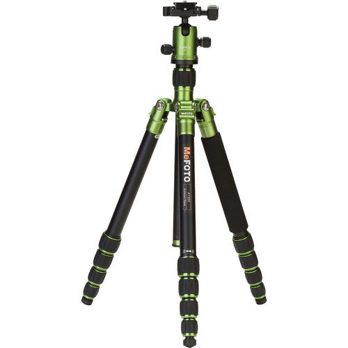 MeFoto Roadtrip Aluminum Travel Tripod Kit - Green