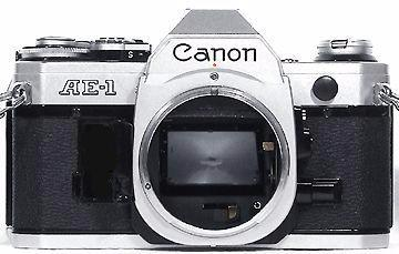 Used Canon AE-1 35mm SLR Body