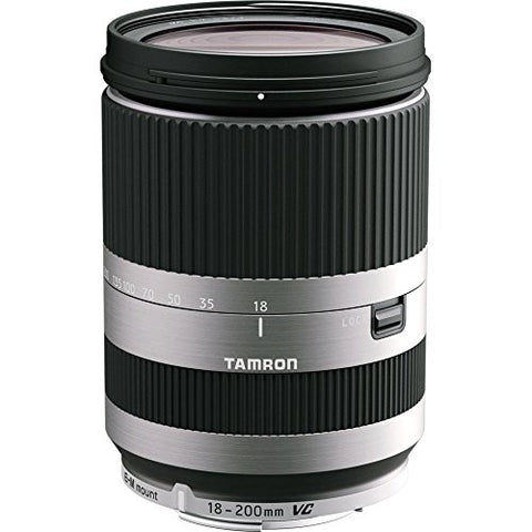 Tamron Canon EOS M 18-200mm F/3.5-6.3 Di-III VC w/ hood SILVER AFB011EMS700 - Photo-Video - Tamron - Helix Camera