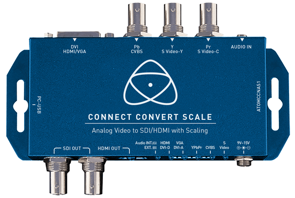 Atomos Connect Convert Scale | Analog to SDI/HDMI