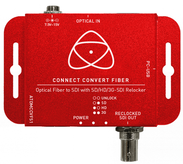 Atomos Connect Convert Fiber | Fiber to SDI