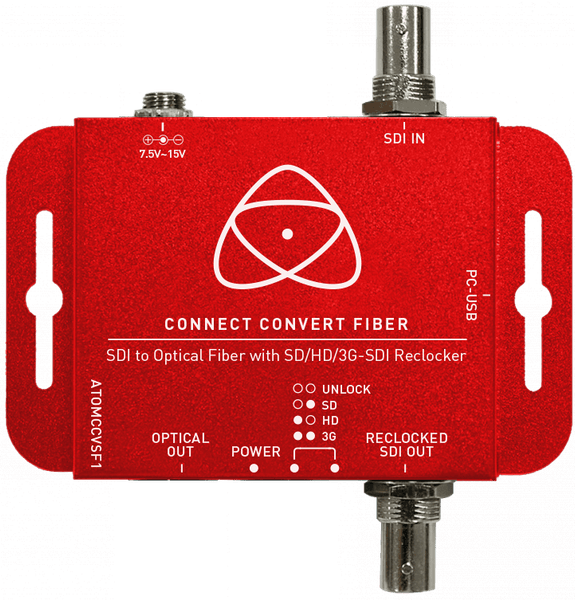 Atomos Connect Convert Fiber | SDI to Fiber