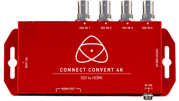 Atomos Connect Convert 4K | SDI to HDMI w Scale/Overlay