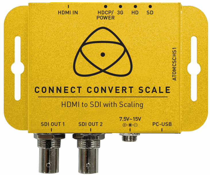 Atomos Connect Convert Scale | HDMI to SDI