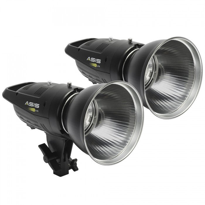 Asis 400 Lite 2-Head Monolight Kit - Lighting-Studio - Asis - Helix Camera