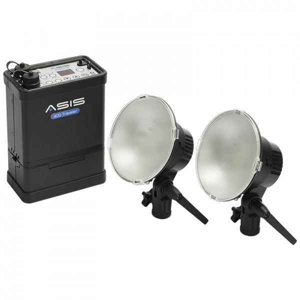 Asis 400 Traveler 2-Light & Li-Ion Battery Kit