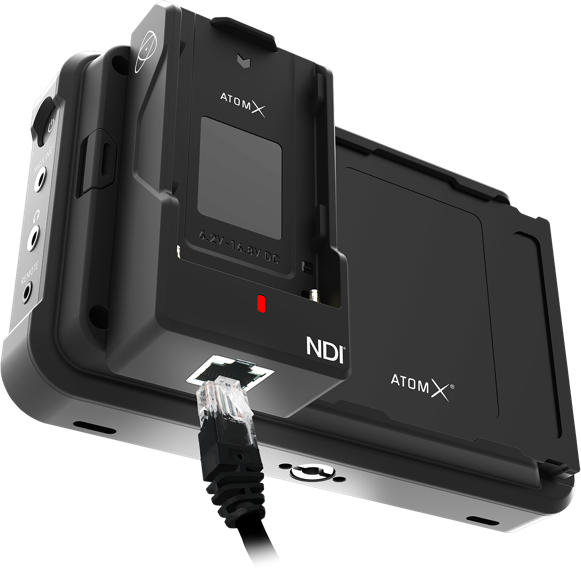 Atomos AtomX GigE/NDI - Modular Expansion for Ninja V