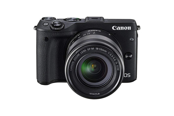 Canon EOS M3 (Black)EF-M 18-55mm IS STM Kit 9694B011