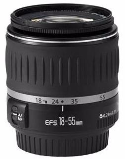 Used Canon EF-S 18-55mm f3.5-5.6 II
