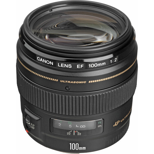 Canon EF 100mm f/2 USM 2518A003 - Photo-Video - Canon - Helix Camera