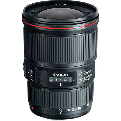 Canon EF 16-35mm f/4L IS USM - Photo-Video - Canon - Helix Camera