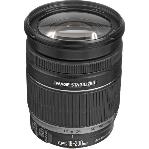 Canon EF-S 18-200mm f/3.5-5.6 IS - Photo-Video - Canon - Helix Camera