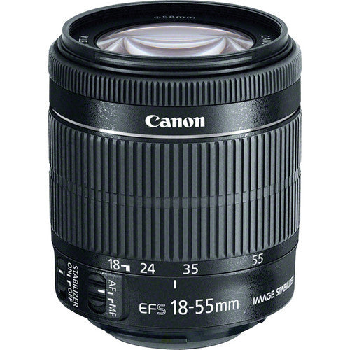 Canon EF-S 18-55mm f/3.5-5.6 IS STM - Photo-Video - Canon - Helix Camera