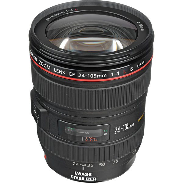 Canon EF 24-105mm f/4L IS USM - Photo-Video - Canon - Helix Camera