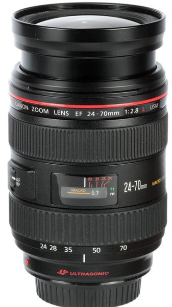 Used Canon EF 24-70mm f2.8 L USM - Photo-Video - Used - Helix Camera