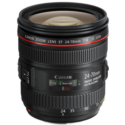 Canon EF 24-70mm f/4L IS USM - Photo-Video - Canon - Helix Camera