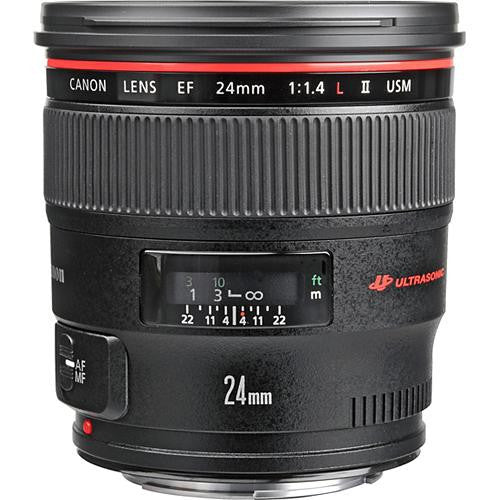Canon EF 24mm f/1.4L II USM - Photo-Video - Canon - Helix Camera