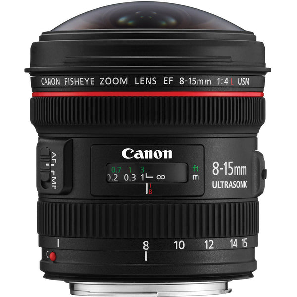 Used Canon EF 8-15mm f4 L USM Fisheye