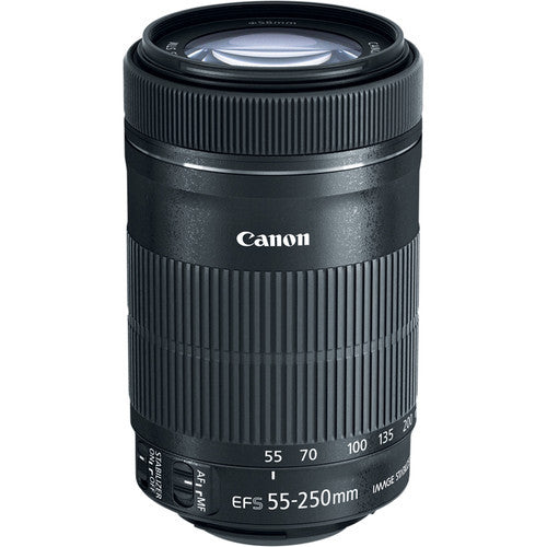 Canon EF-S 55-250mm f/4-5.6 IS STM - Photo-Video - Canon - Helix Camera