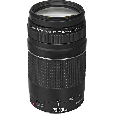 Used Canon EF 75-300mm f4-5.6 III