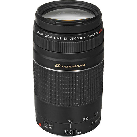 Canon EF 75-300mm f/4-5.6 III USM - Photo-Video - Canon - Helix Camera