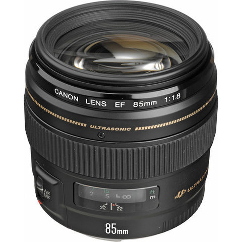 Canon EF 85mm f/1.8 USM 2519A003 - Photo-Video - Canon - Helix Camera