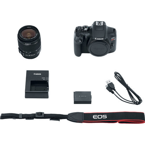 Canon EOS Rebel T6 EF-S 18-55mm IS II Kit