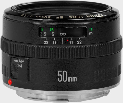 Used Canon EF 50mm F/1.8 Mark I (Metal Mount)