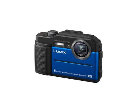 Panasonic Lumix TS7 Waterproof Tough Camera - Blue