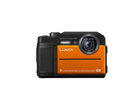 Panasonic Lumix TS7 Waterproof Tough Camera - Orange
