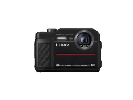 Panasonic Lumix TS7 Waterproof Tough Camera - Black