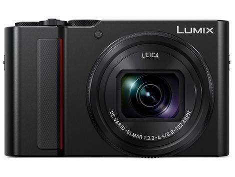 Panasonic Lumix ZS200 Digital Camera (Black)