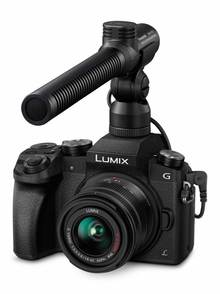 Panasonic Lumix G7 Mirrorless Camera with 14-42mm and 45-150mm - Black