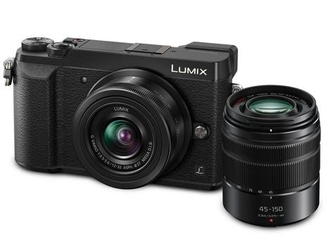 Panasonic Lumix GX85 4K Mirrorless Camera with 12-32mm & 45-150mm Lenses - Black