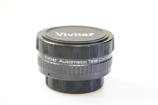 Used Vivitar 2.0x Automatic Teleconverter M42 Pentax Screw Mount - Photo-Video - Used - Helix Camera